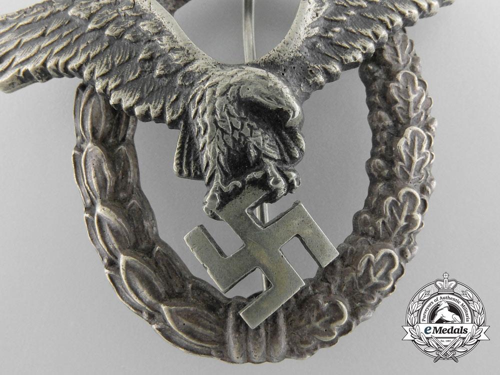 Germany, Luftwaffe. A Pilot's Badge, by Brüder Schneider