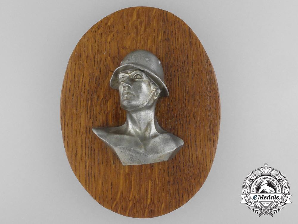 A Army (Heer) Three-Quarter View Commemorative Plaque