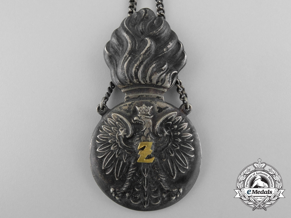 Poland. A Military Police Badge, Numbered, c.1935