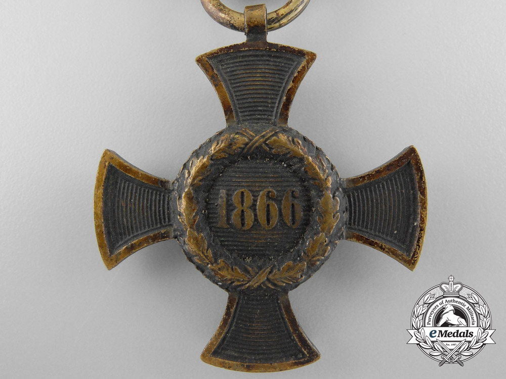 An 1866 Bavaria Austrian War Campaign Medal