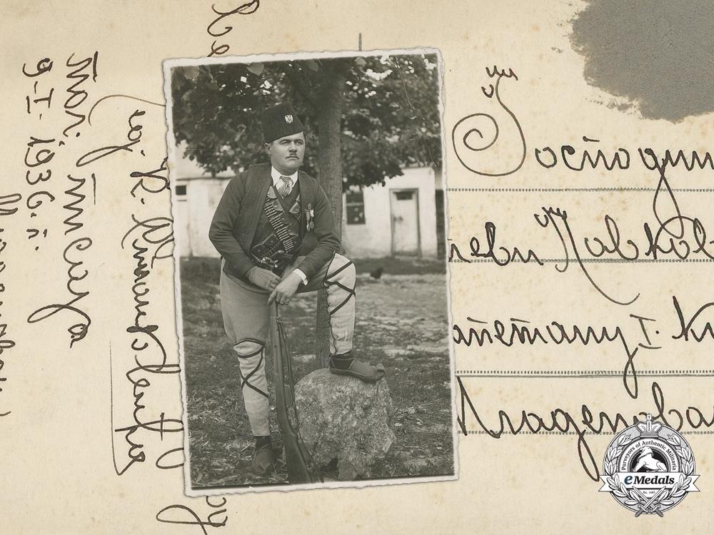 A Good Second War Photograph of a Serbian Chetnik