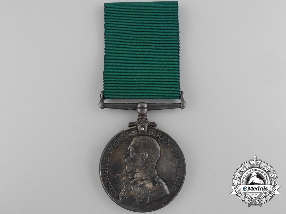 A Colonial Auxiliary Forces Long Service Medal to the Argyll Light Infantry