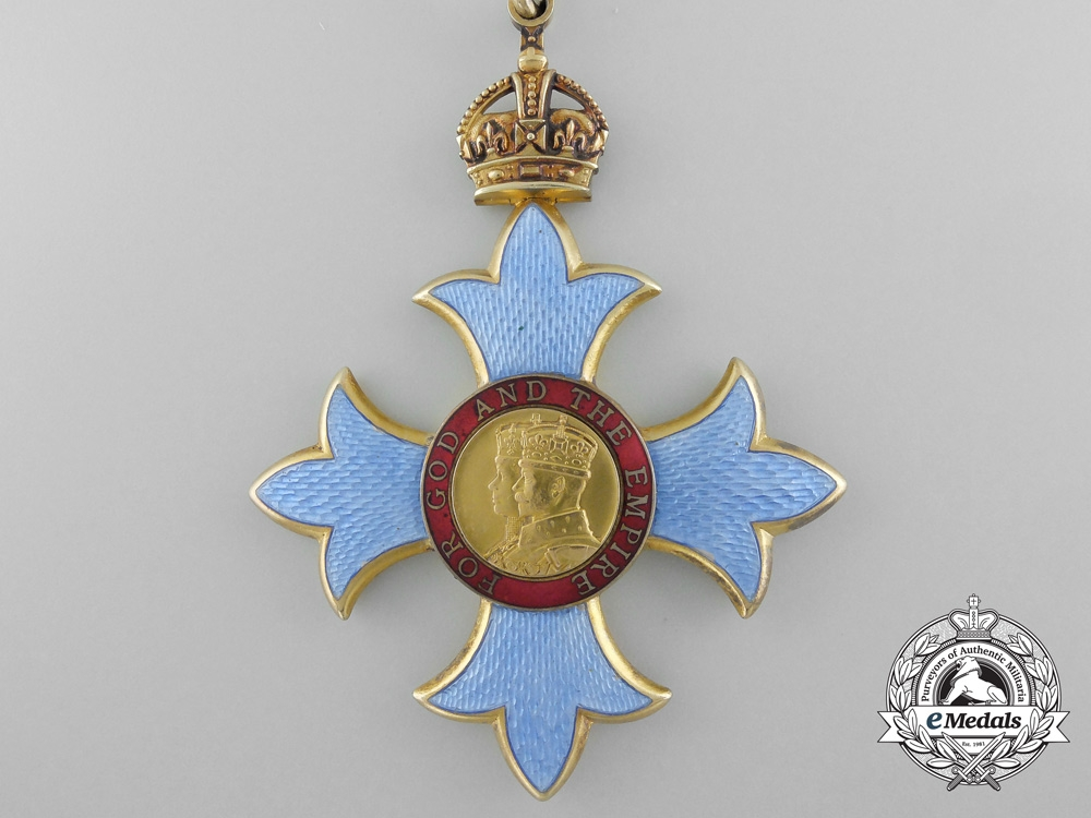 A Most Excellent Order of the British Empire; Commander (CBE) with Case