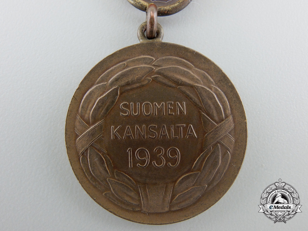A Finnish Medal for Bravery of the Order of Liberty; 2nd Class 1939