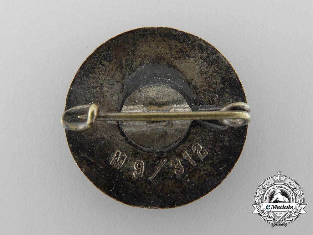 Germany, NSDAP. A Federation of Ethnic Groups Westmark Membership Badge