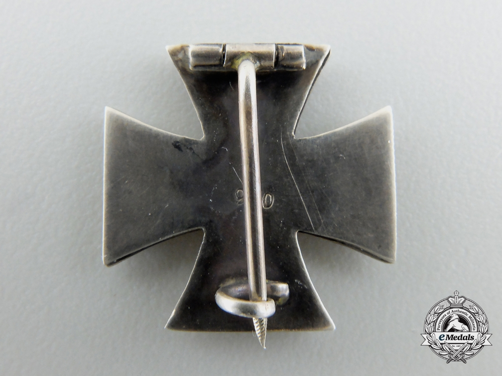 A Miniature Iron Cross First Class 1939 in Silver