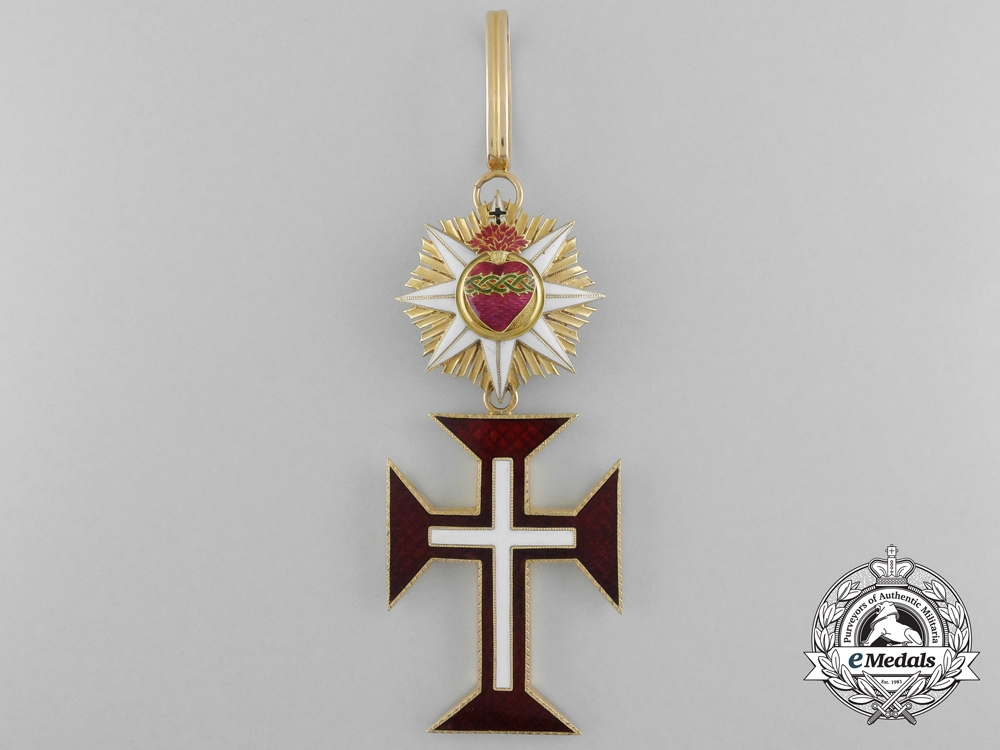 A Portuguese Military Order of Christ in Gold, Commander