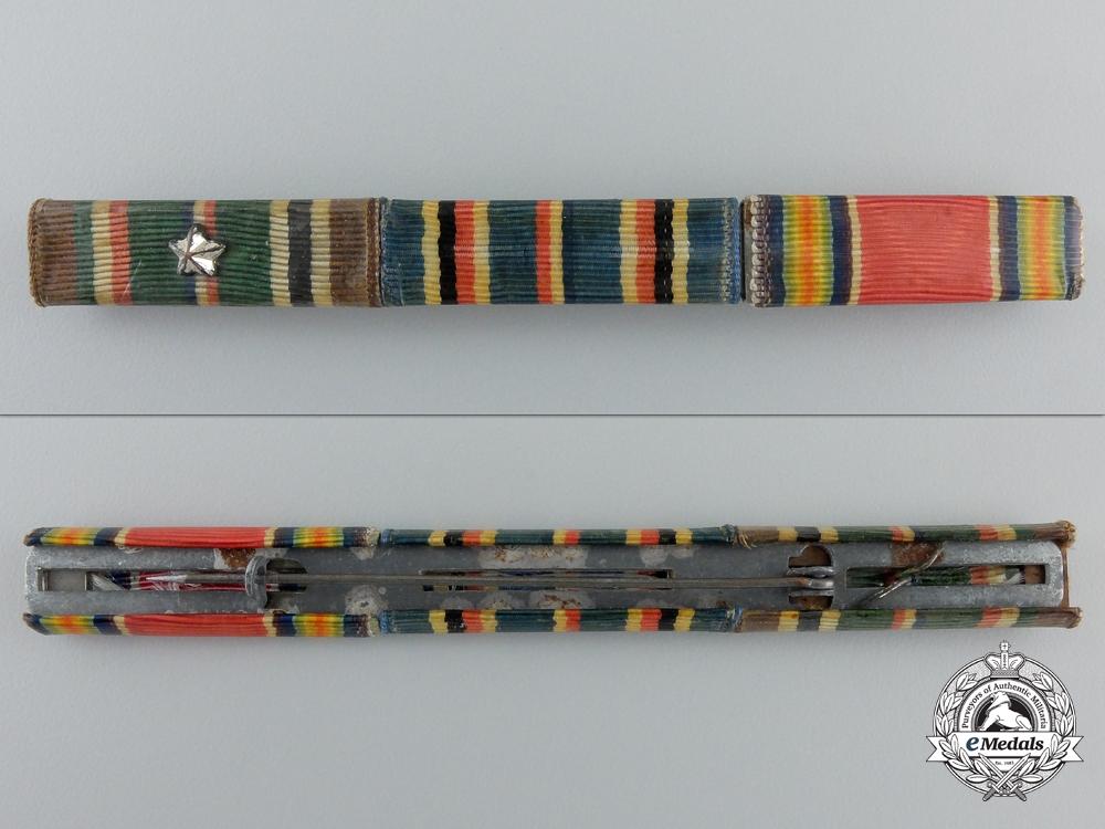 Three Second War American Air Force Items & Ribbon Bar
