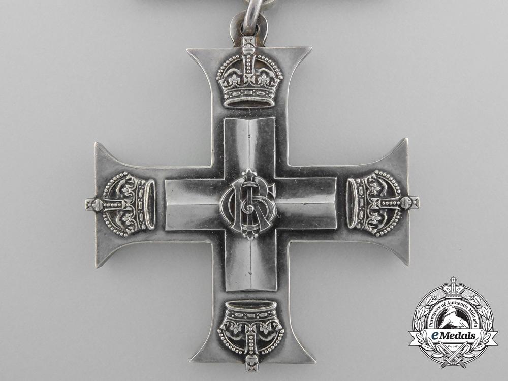 Canada. A Military Cross Group to Lieutenant McDonald for Leadership & Gallantry at Cambrai