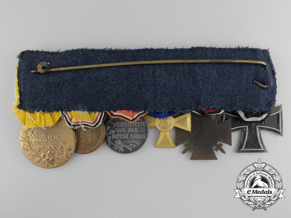 A German Imperial Boxer Rebellion Service Medal Bar
