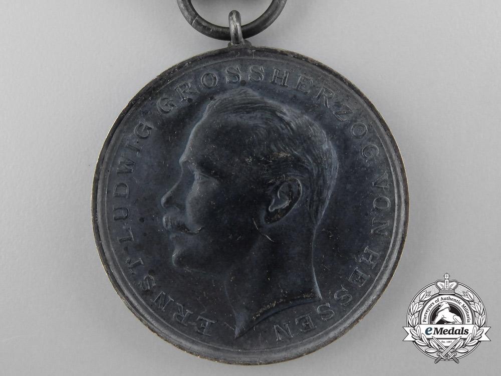 A Hessen General Honour Decoration; Type III (1894-1918)