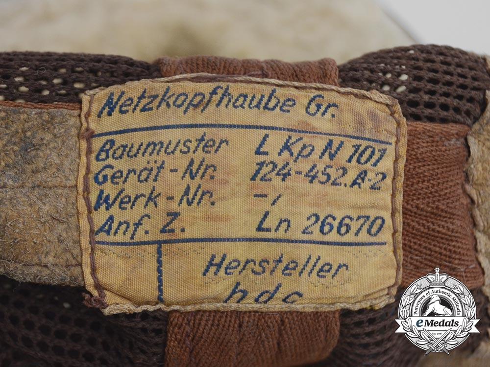 A Second War Luftwaffe Model L Kp N 101 Summer Flying Helmet