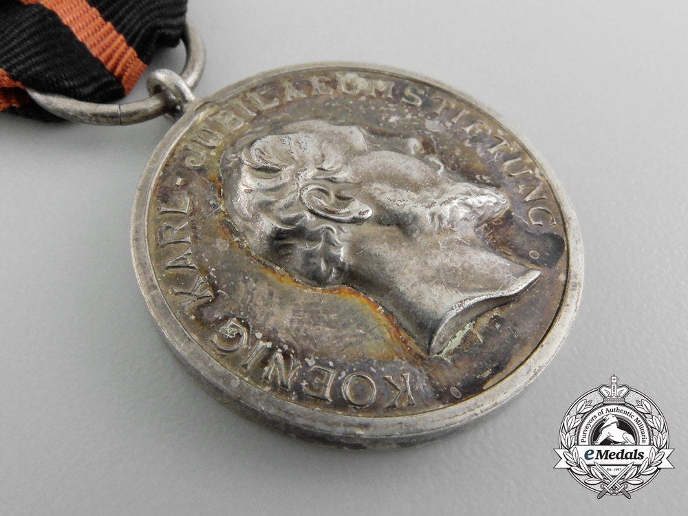 A Württemberg  Recognition Medal of King Charles Jubilee Foundation