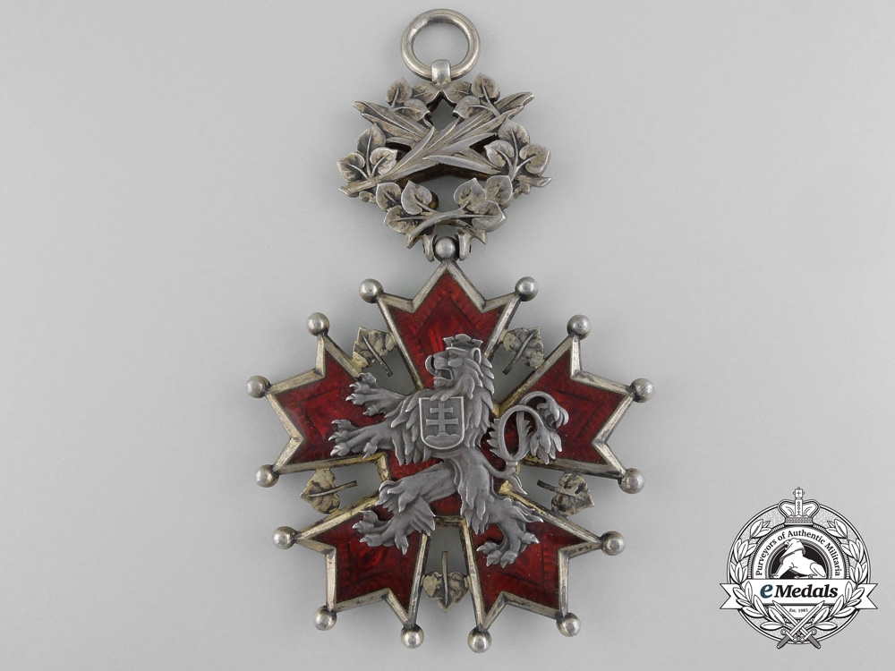 Czechoslovakia. An Order of the White Lion, Grand Cross,