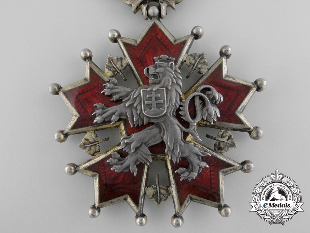 A Czechoslovakian Order of the White Lion; Grand Cross