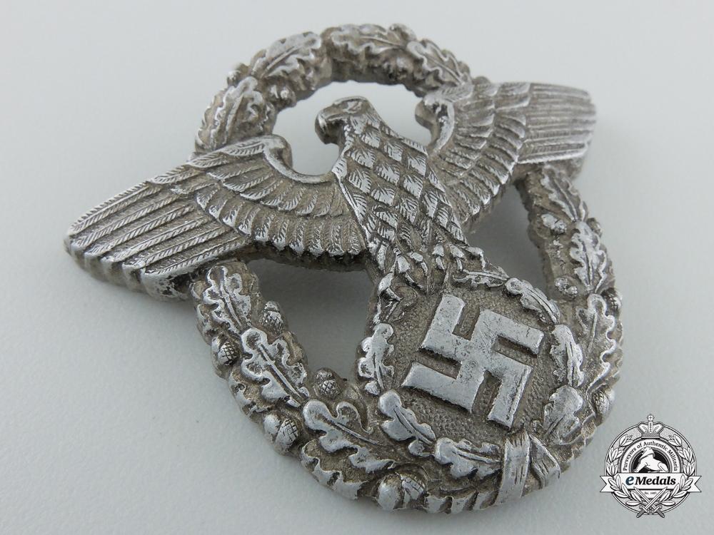 A Second War Period German Police Cap Badge By Assmann
