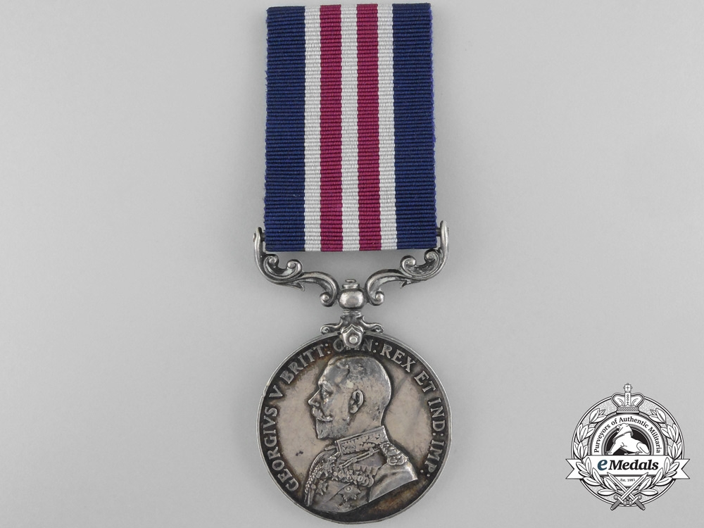 A Military Medal to the 52nd Canadian Infantry 1917