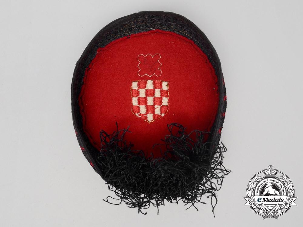A Second War Ustasha Lika Cap