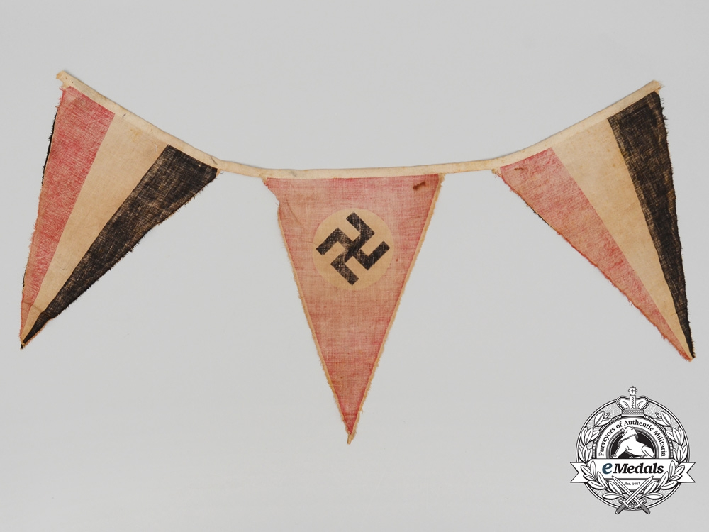 A Section of Second War German Pennants