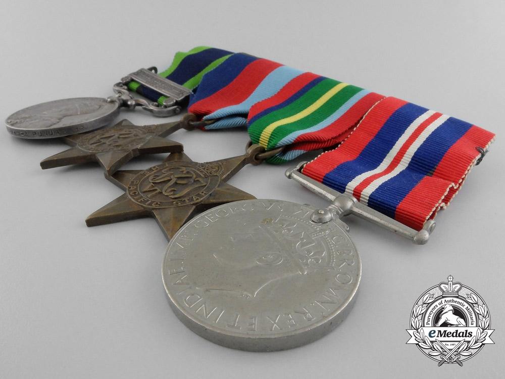 An India General Service Medal 1908-35 Medal Bar 2nd Punjab Regiment