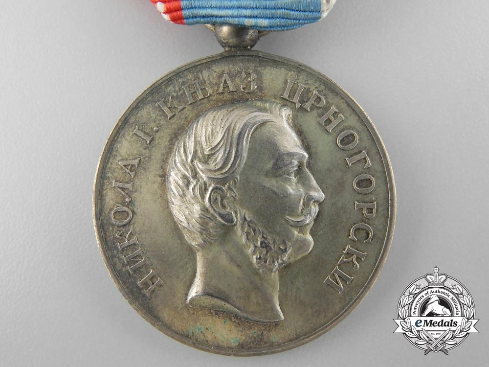 A First War Montenegrin Gold Medal for Zeal