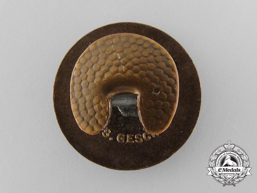 An NSDAP Membership Badge by Boerger & Co, Berlin