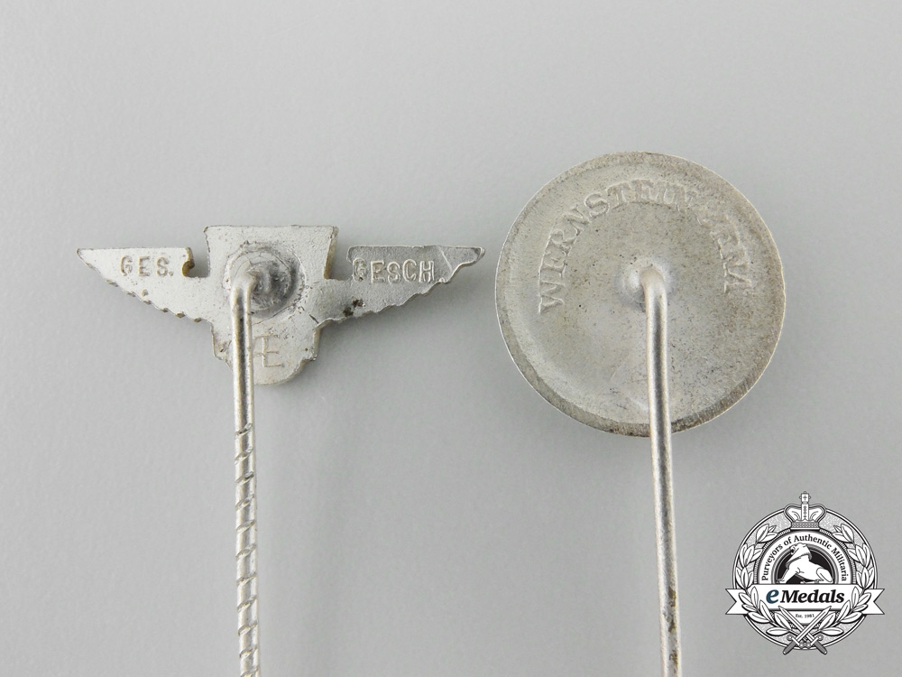 Five Second War Period German Stickpins