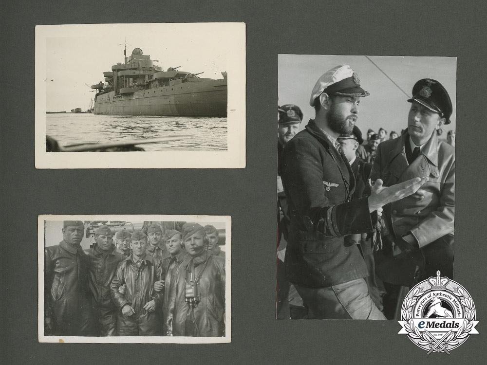 A Kriegsmarine U-Boat Service Photo Album