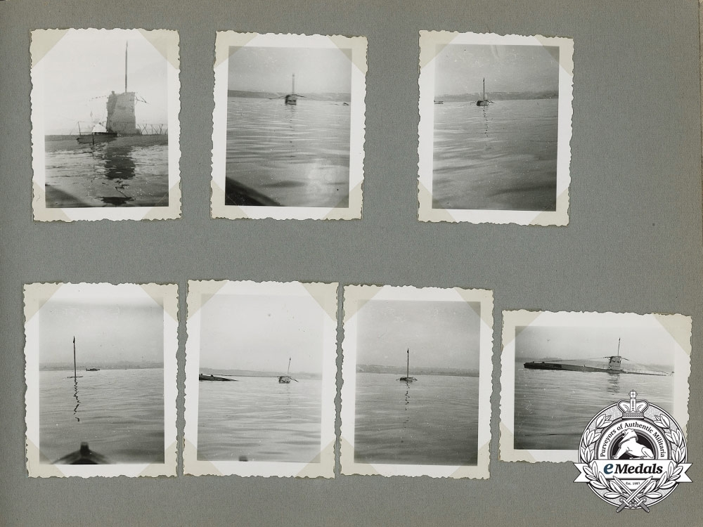 A Kriegsmarine Flotilla Weddigen U-Boot 9 Photo Album