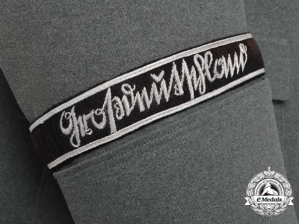 Immediate Credit Card >> A Wehrmacht Panzer Grenadier Division Tricot Gabardine Tunic; Großdeutschland