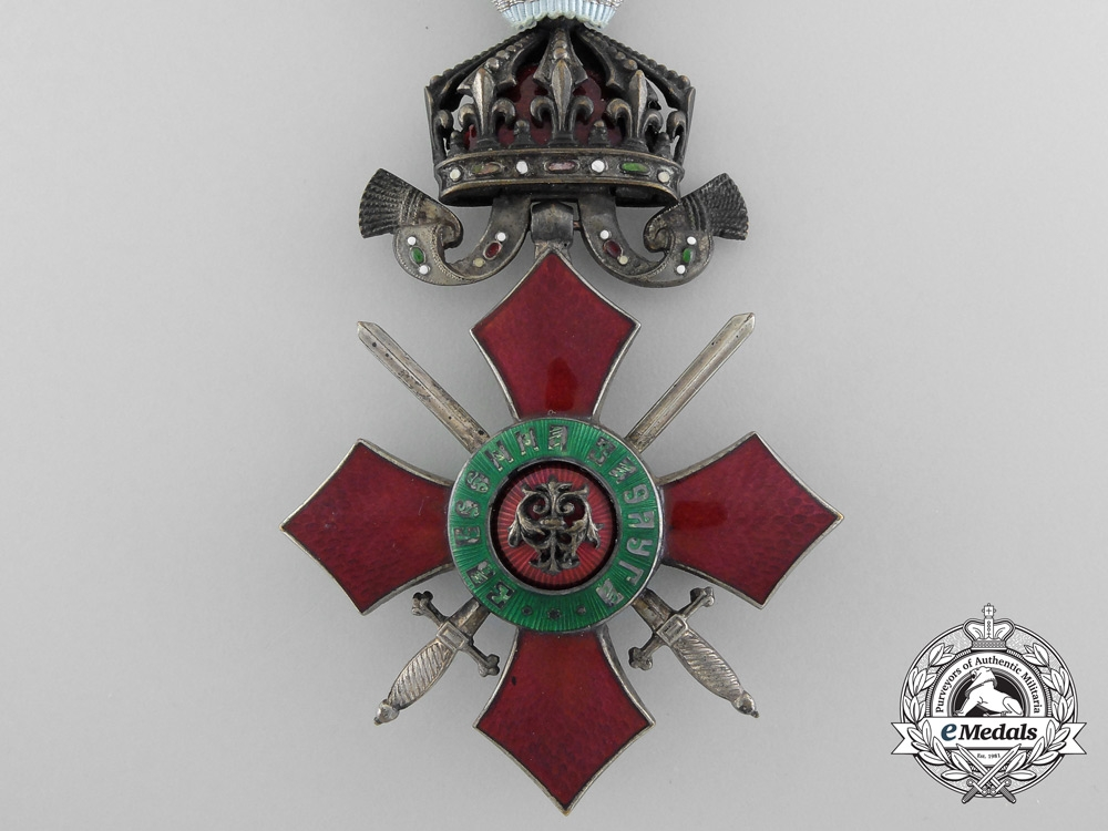 A Bulgarian Order of Military Merit; Knight