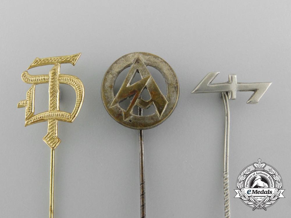 Three Second War Period German Stickpins