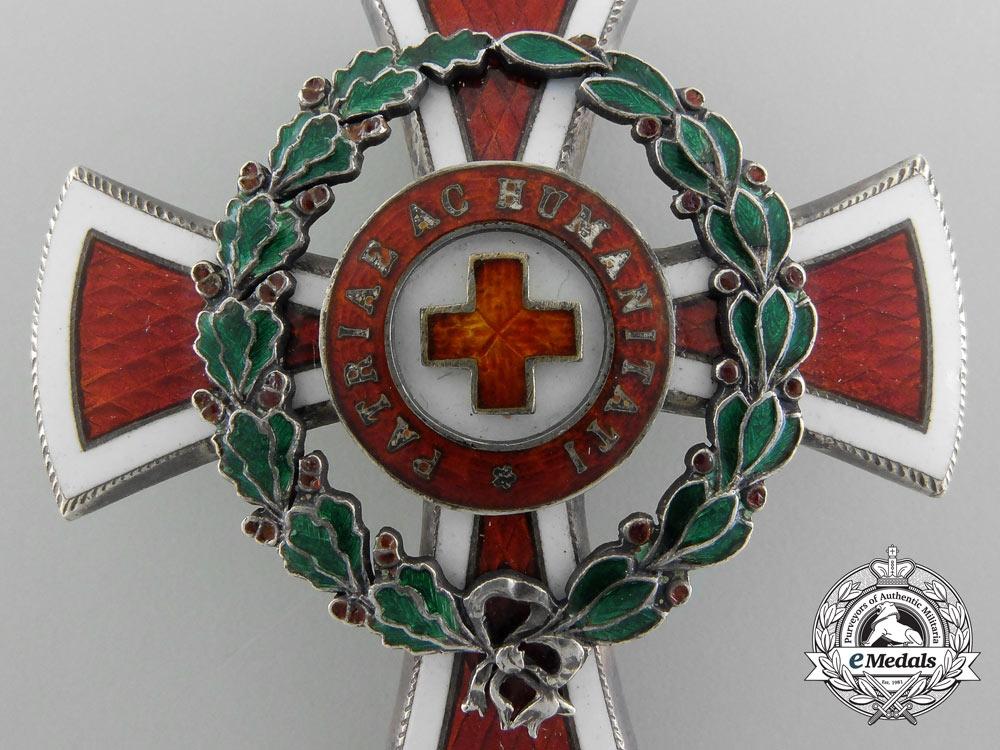 An Imperial Austrian Red Cross Officer's Decoration 1864-1914 by Scheid, Wien