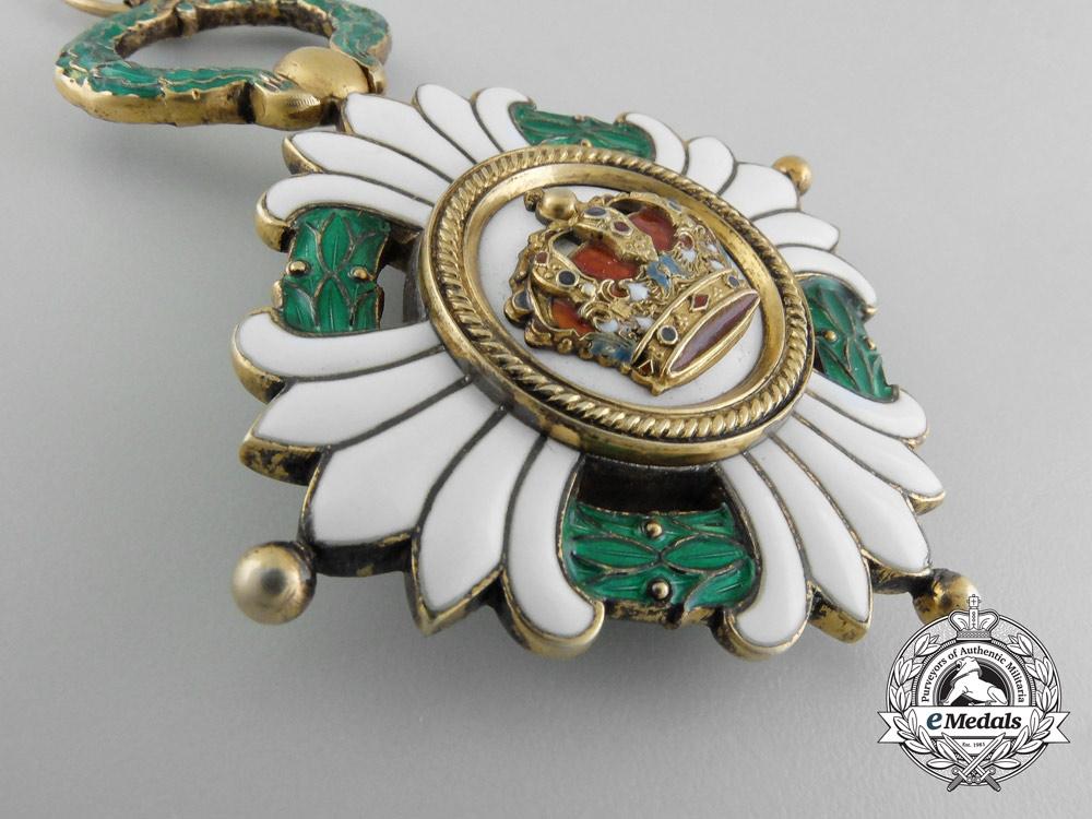 An Order of the Yugoslavian Crown; Grand Cross Badge