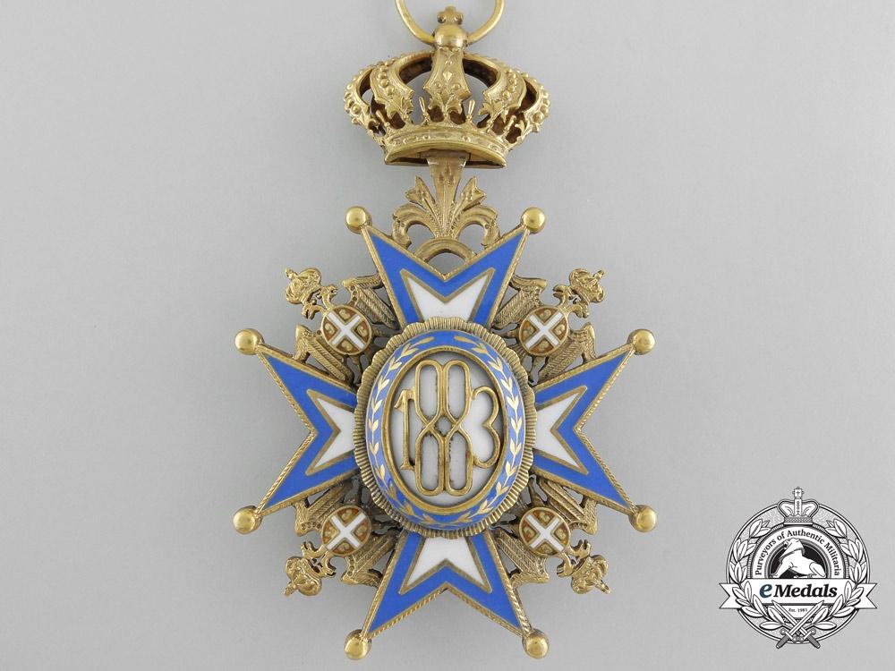 A Serbian Order of St. Sava; Grand Cross by Bertrand, Paris