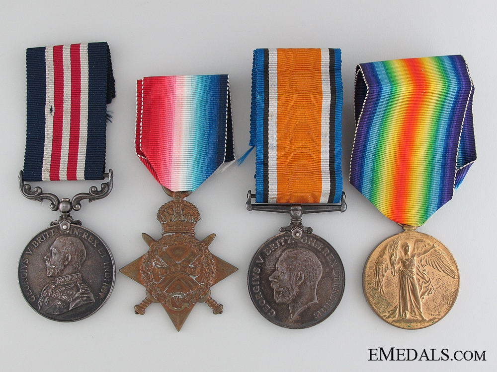 A First War Military Medal & KIA Group to the Norris Brothers