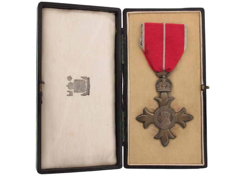 MBE. Military, Lieutenant Harry Rogers, R.N.R.