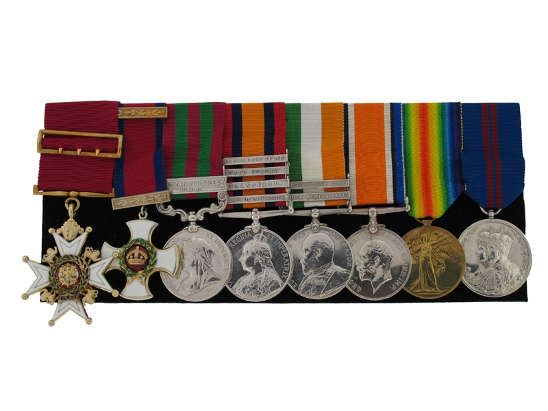 The Awards of Major-General J. M. Walter