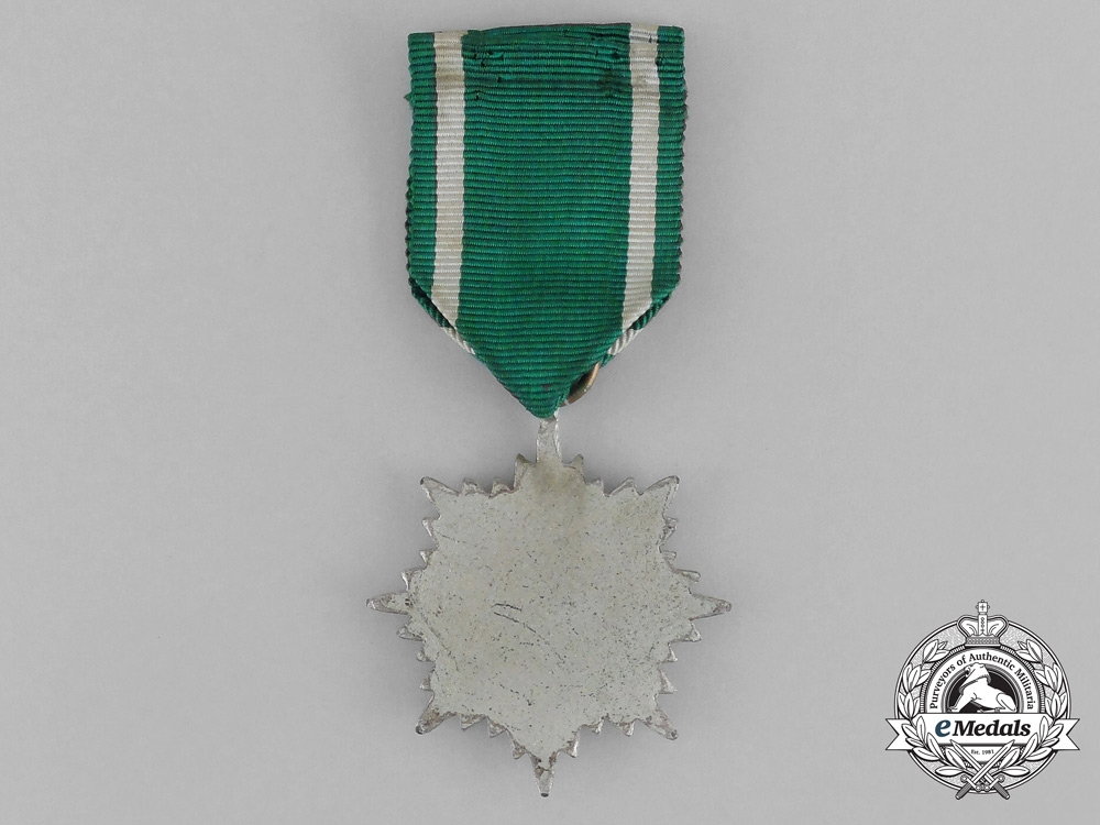 A Silver Grade Eastern People's Bravery Decoration; 2nd Class
