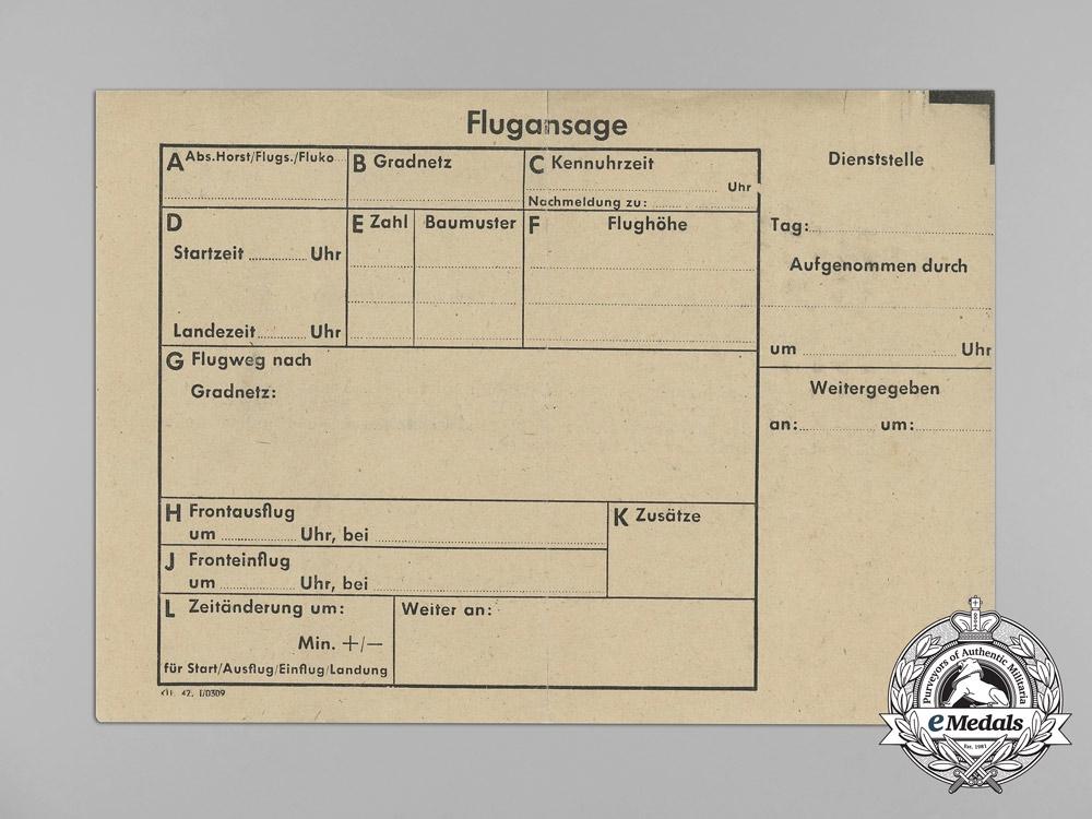 An Extensive Document Group to Luftwaffe Ace Wolfgang Kretschmer; 19 Victories