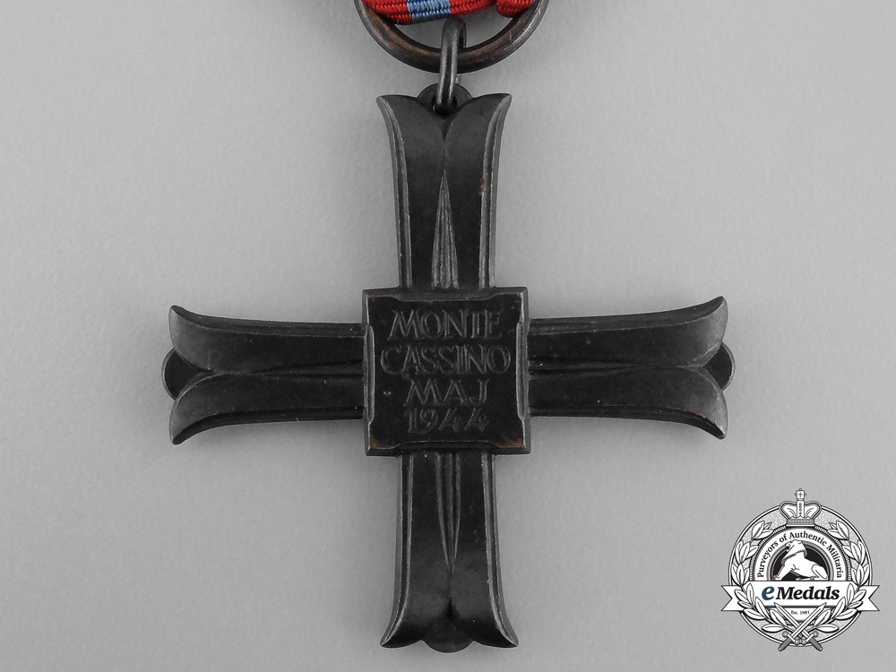 A Polish Commemorative Cross of Monte Cassino 1944