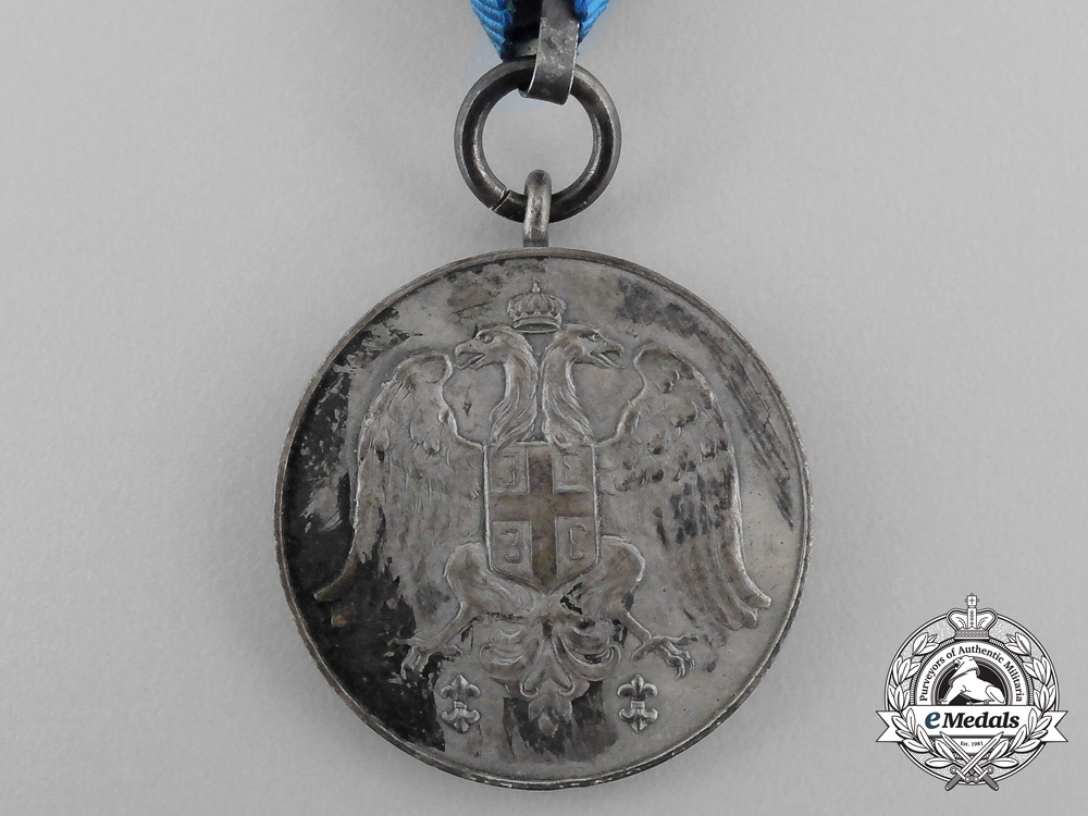 A Serbian Medal for Zeal; Version 1
