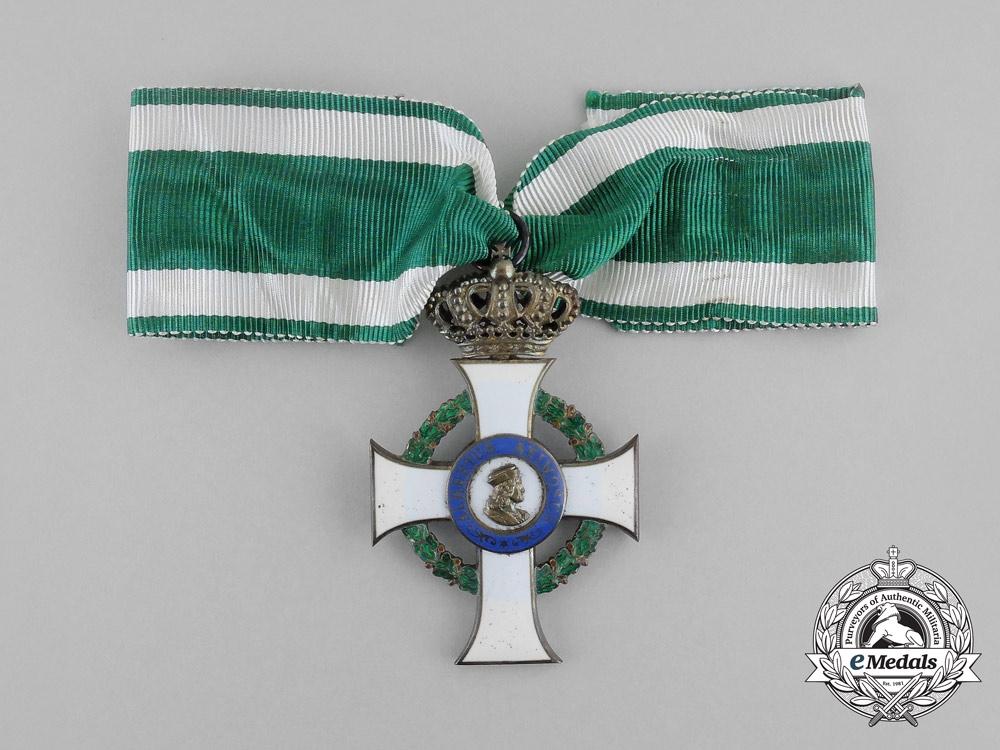 A Saxon Albert Order; Knight's Cross by G.A. Scharffenberg, Dresden