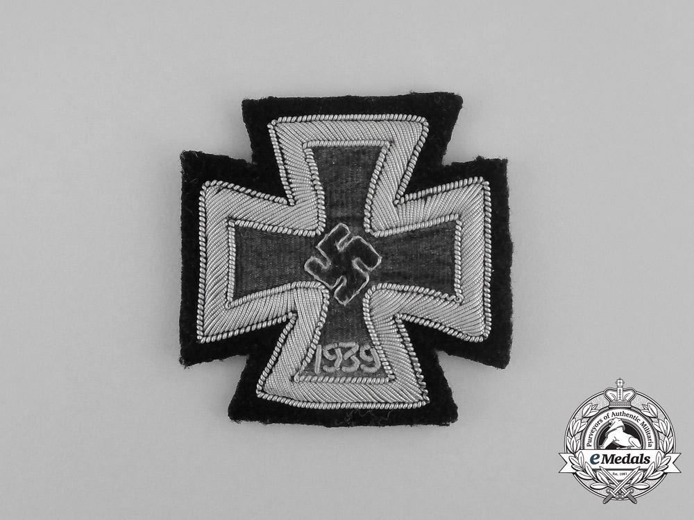 Germany. An Iron Cross 1939 First Class, Scarce Cloth Version