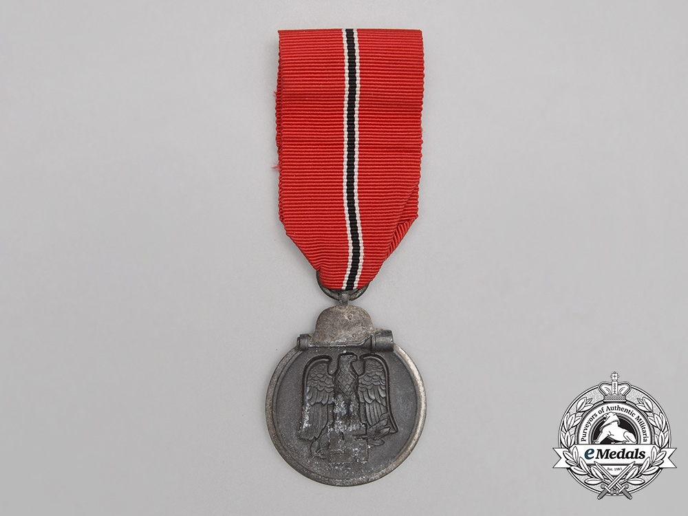 A Hero's Death Certificate & Eastern Campaign Medal Grouping