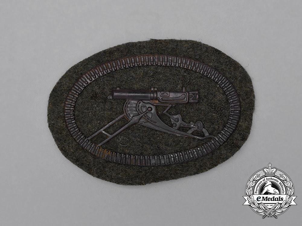 A First War German Machine Gunner Crew Sleeve Patch