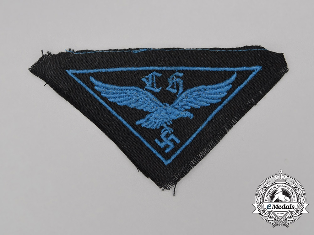 A HJ Flak Helper's Breast Eagle; Uniform Removed