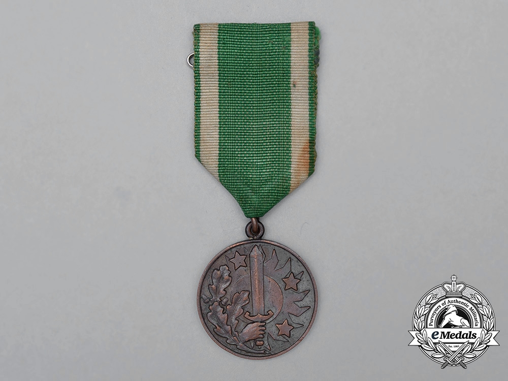 A Latvian Medal of Merit of the Civil Guard