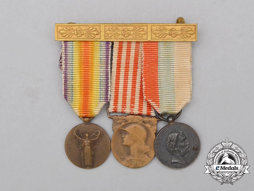 A First War Montenegro Bravery Medal Miniature Group