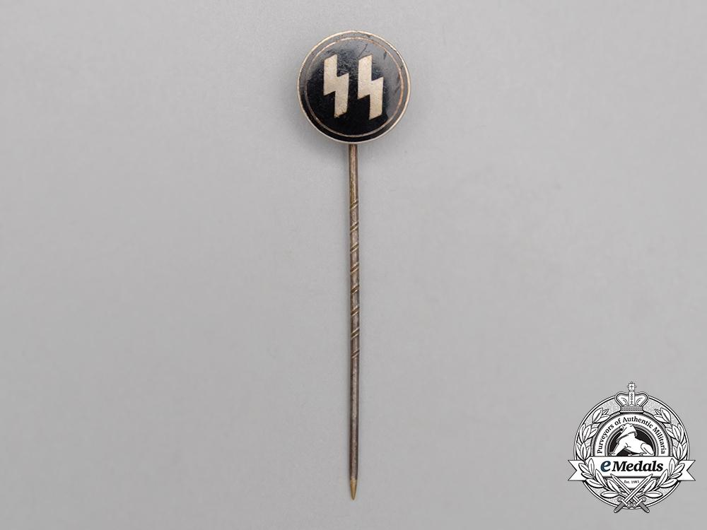 A Waffen-SS Membership Stick Pin by Hoffstätter; Numbered
